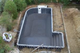Κατασκευή πισίνας & διαμόρφωση περιβάλλοντος χώρου - πριν