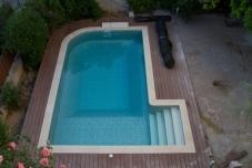 Κατασκευή πισίνας & διαμόρφωση περιβάλλοντος χώρου - μετά